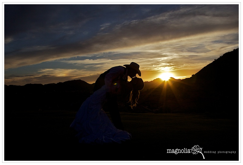 phoenix wedding photography sunset